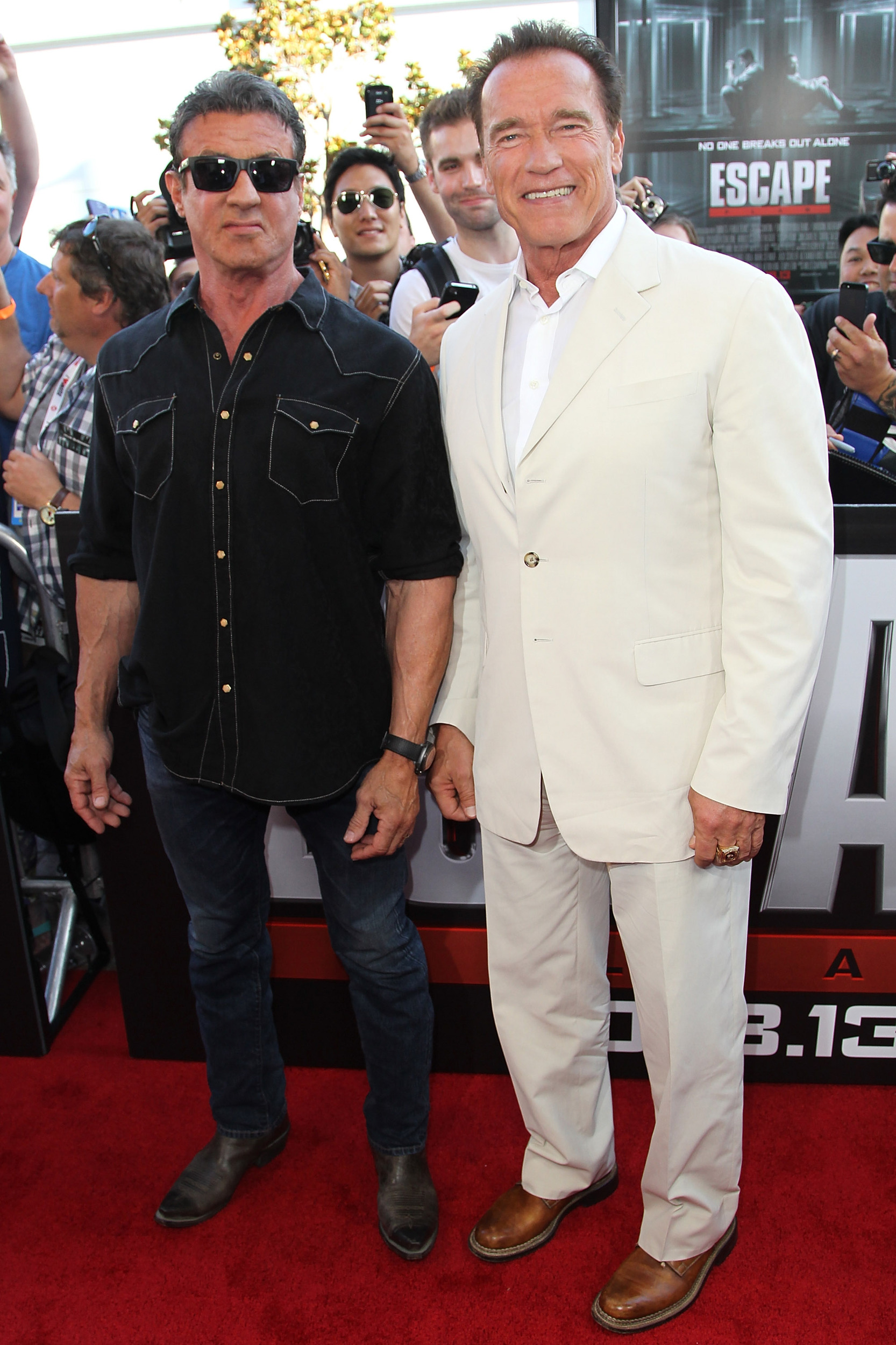 Sylvester Stallone And...
