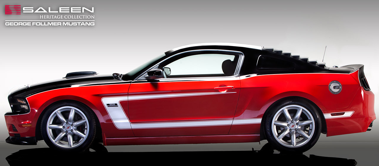 2014 Saleen George Follmer Edition Mustang Photo Gallery