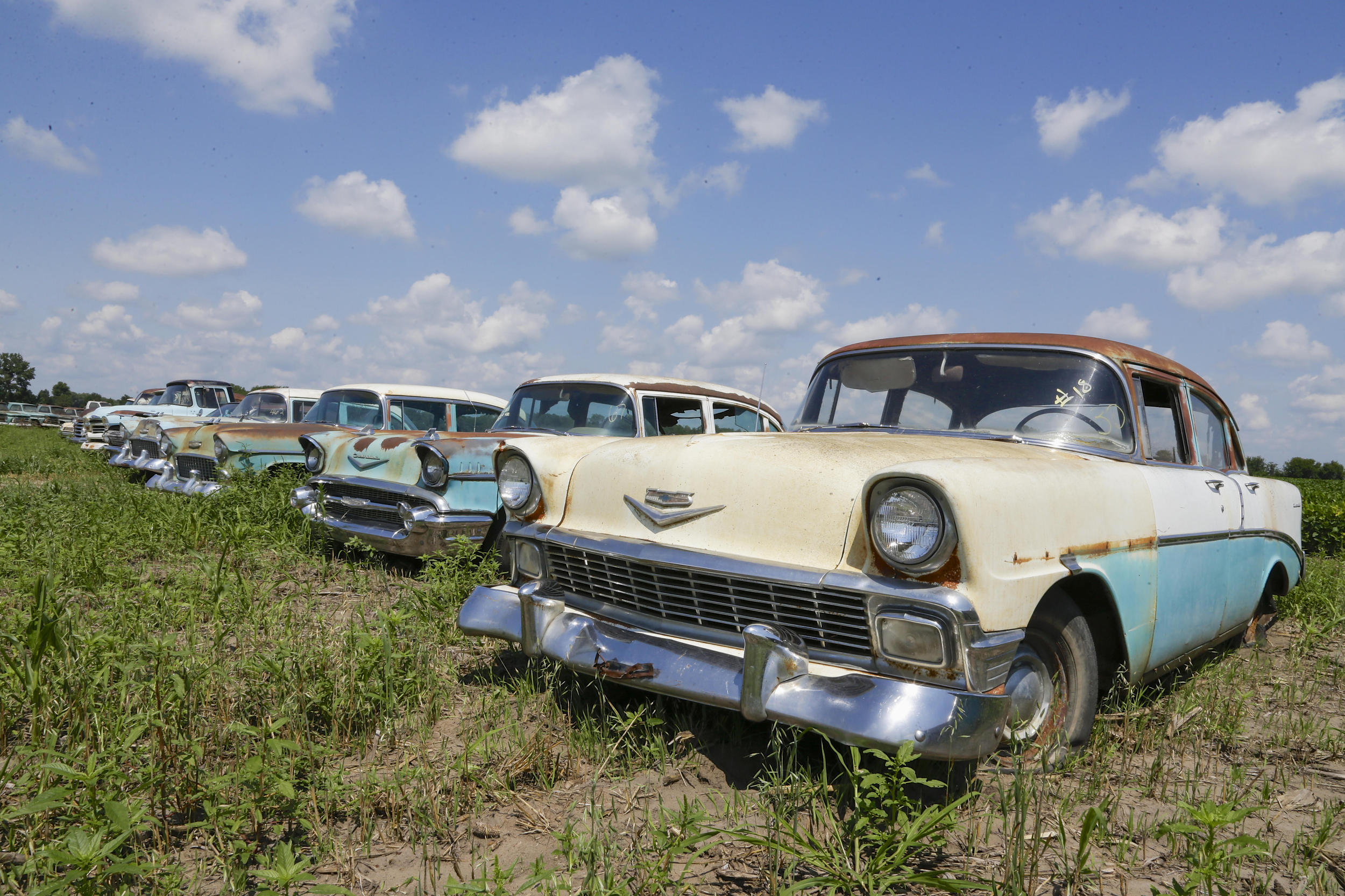 Vintage Chevy Collection Nebraska Dealer Time Capsule Gallery