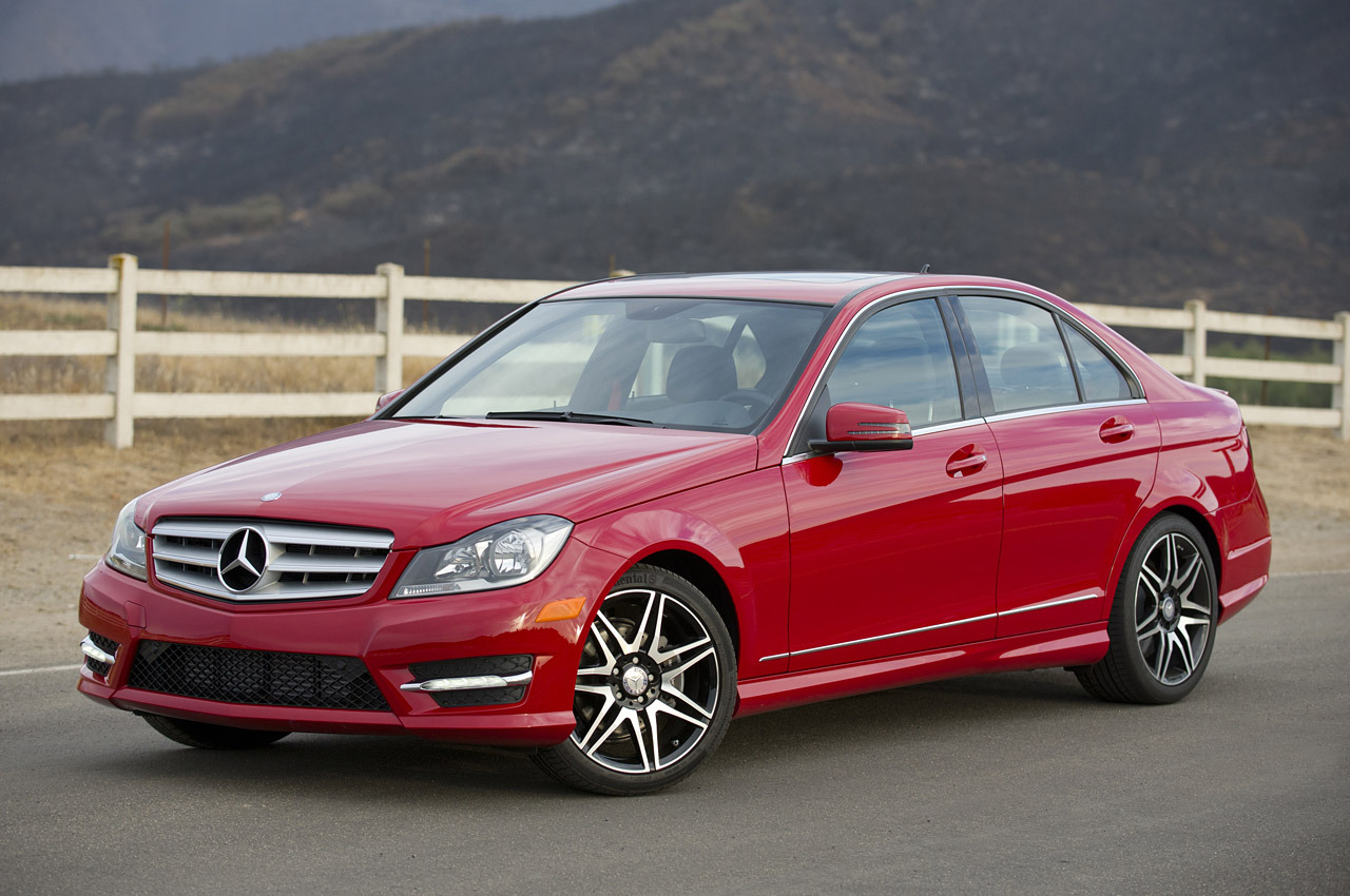 Cars van red of service autos post for 2014 mercedes benz c250 review
