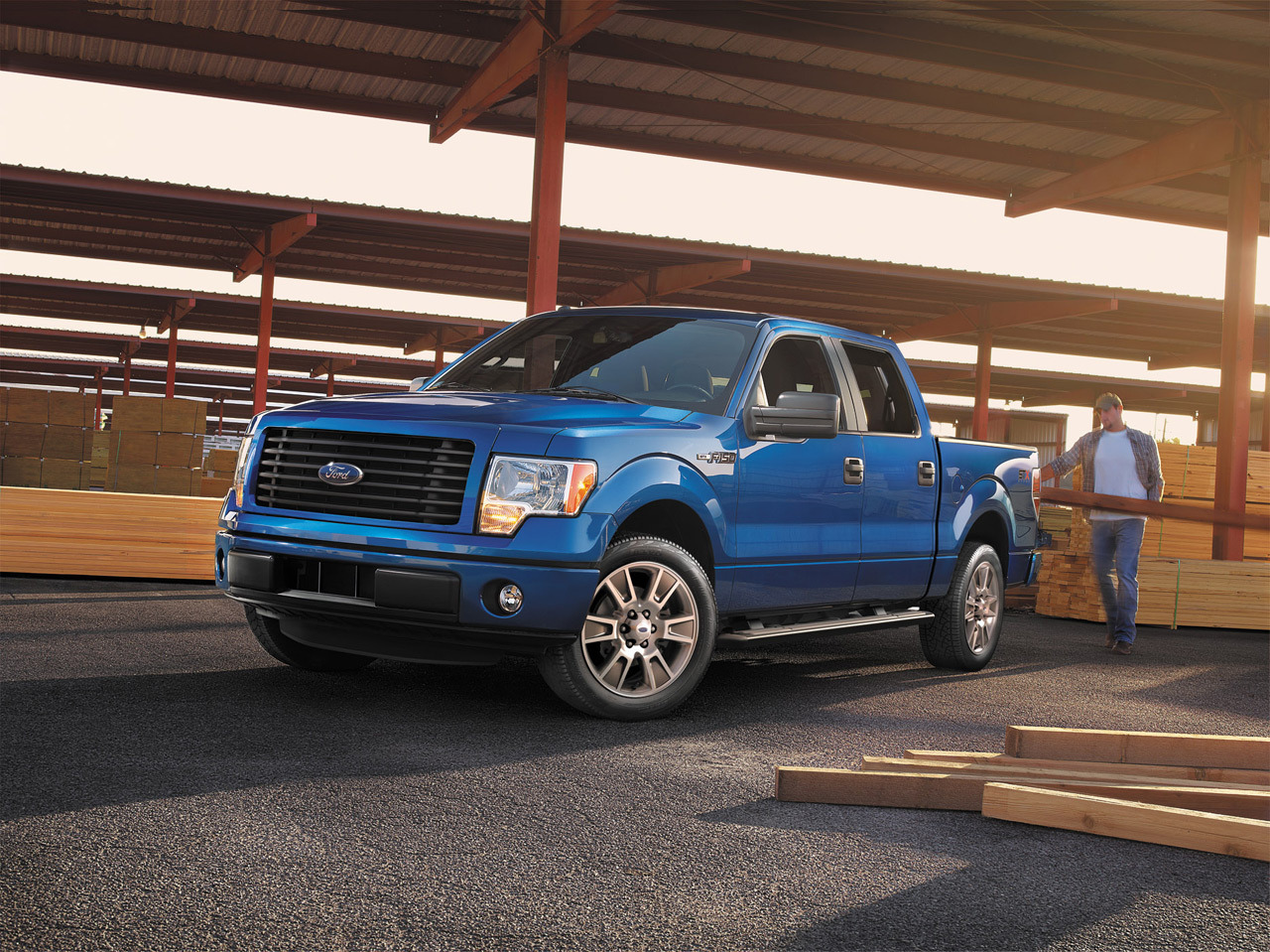 2014 ford f 150 stx supercrew sport package photo gallery autoblog. Black Bedroom Furniture Sets. Home Design Ideas