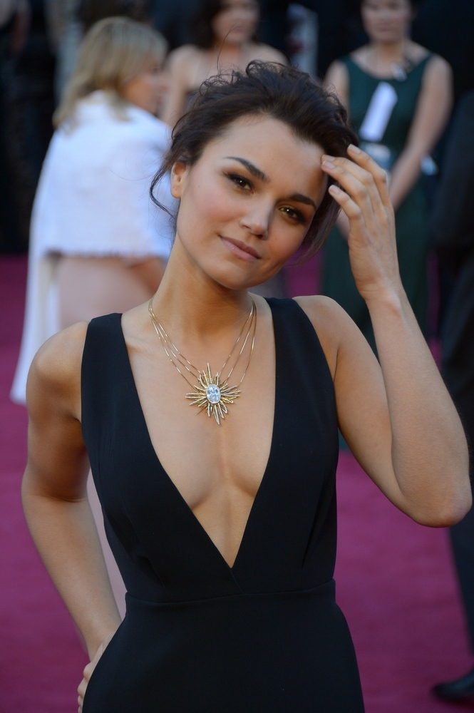 Samantha Burton Actress 2013 Actress samantha barks arrives