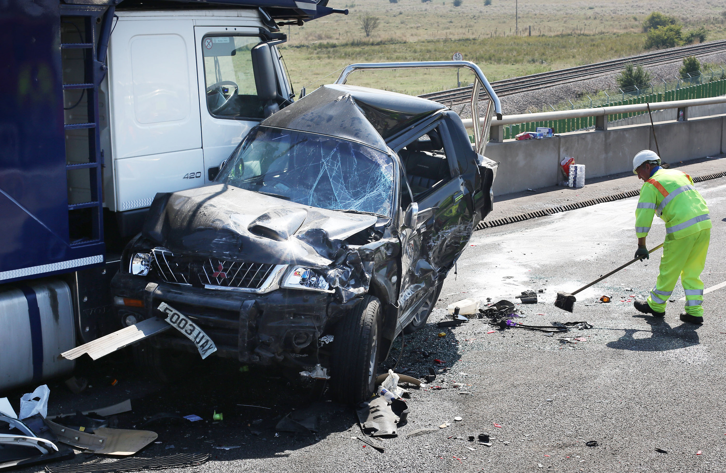 a road accident The relationship between awareness of road safety measure and accident  involvement in pre-drivers: the basis of a road safety programme.