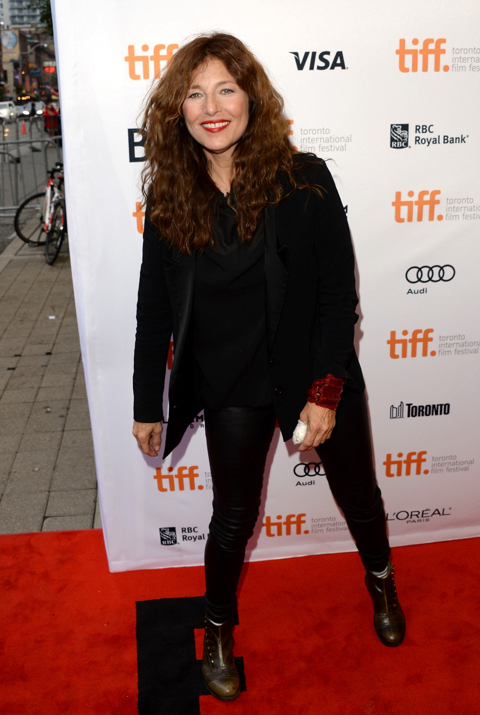 Catherine Keener Leather