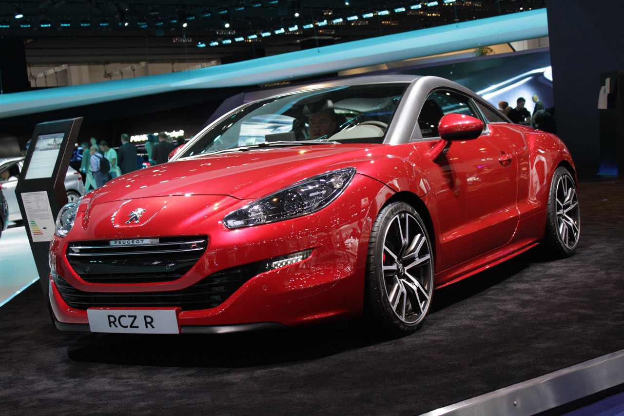 peugeot rcz r frankfurt 2013 photo gallery autoblog. Black Bedroom Furniture Sets. Home Design Ideas