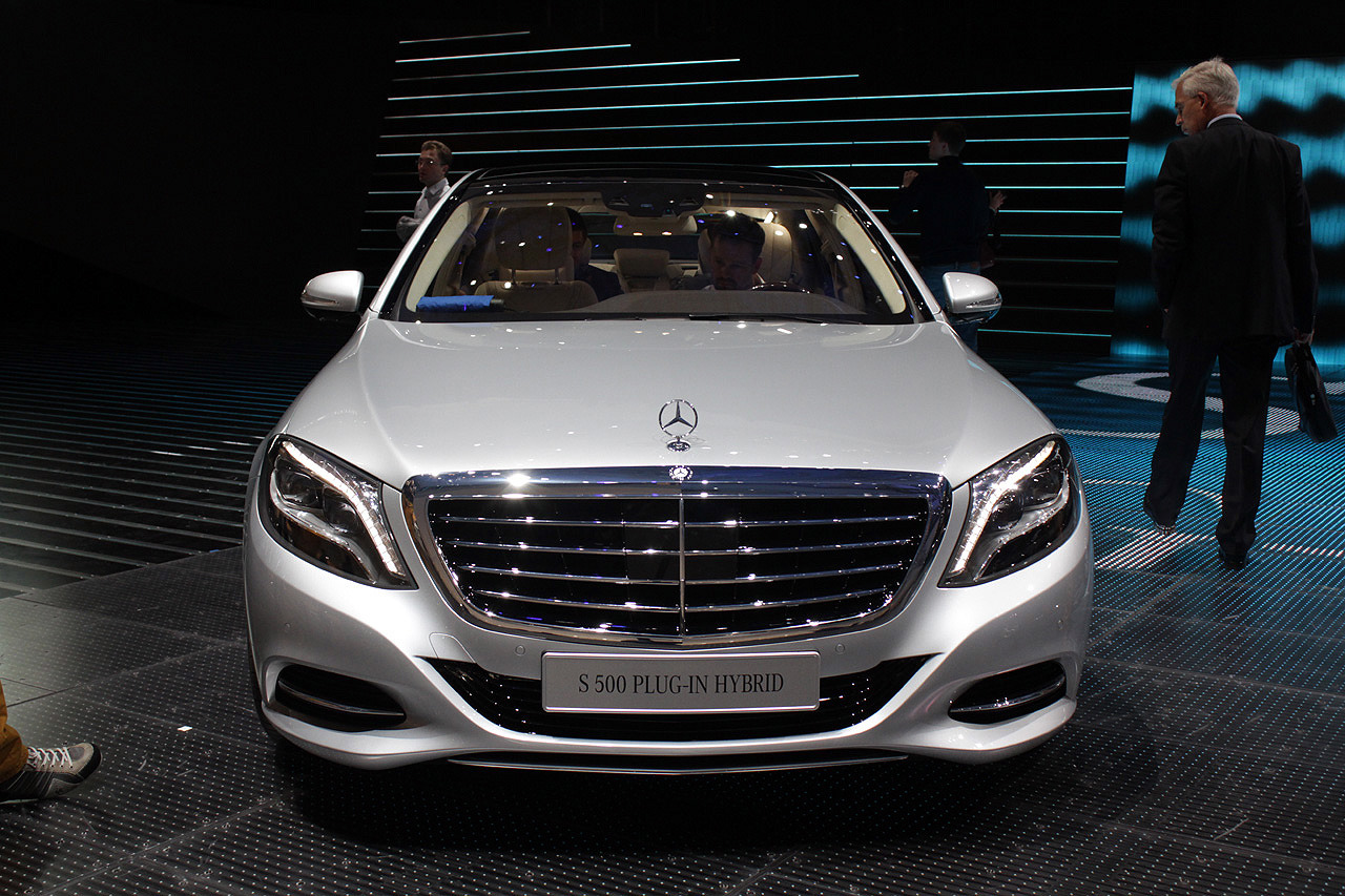 2014 mercedes benz s500 plug in hybrid frankfurt 2013 for Mercedes benz frankfurt