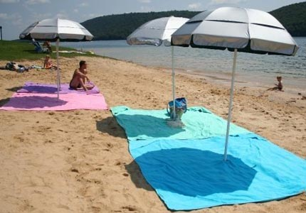 Summer days: WowTowel inventor Todd Moore says his goal is to create an