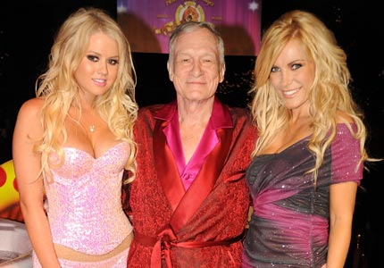 Private party: Playboy founder Hugh Hefner plans to take his company private after nearly four decades.
