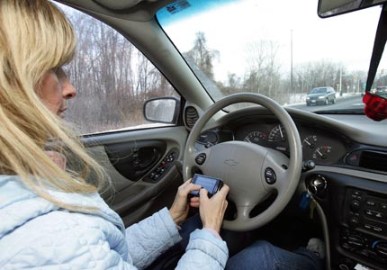 Hold the phone: A new study shows that anti-texting laws may actually lead to more accidents.