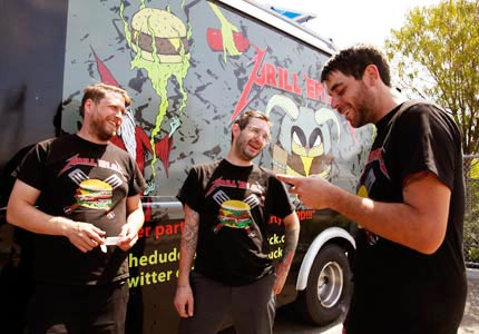 Meals on wheels: Food trucks like Grill Em All, which won Food Network's Great Food Truck Race, have become popular among foodies.
