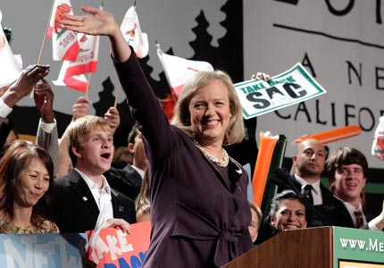Business as usual: California gubernatorial candidate Meg Whitman is among the many former CEOs pursuing political office this year.