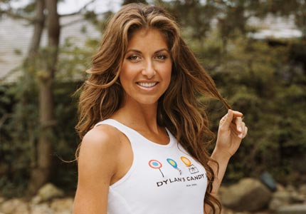 Candy queen: Dylan's Candy Bar, founded by Dylan Lauren, has become the world's largest candy store.