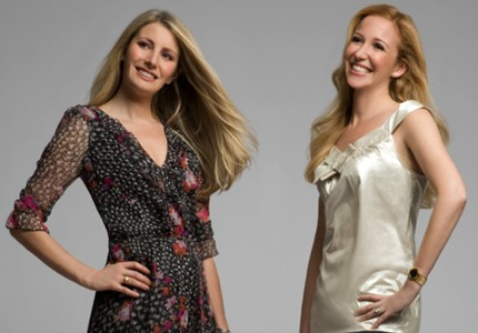 Fashion forward: Alexis Maybank and Alexandra Wilkis Wilson helped launch Gilt Groupe in 2007.
