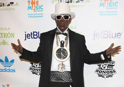 Chicken fight: Rapper and reality star Flavor Flav recently opened a fried chicken restaurant next door to a popular KFC location.