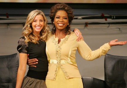 Playing favorites: Sara Blakely's Spanx were featured as one of Oprah's Favorite Things three weeks after she started the business.