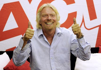 Head of the class: Richard Branson is among the many entrepreneurial dropouts who have gone on to make millions.