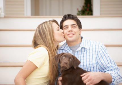 Puppy love: Niche online dating sites like DateMyPet.com help connect loveseekers with specific interests.