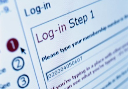 Sign on the dotted line: More than half of Internet users move on to another website when asked to sign in.