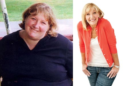 Loss leader: Kim Bensen lost more than 200 pounds and came up with the idea for her own weight-loss company.