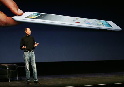 Surprise, surprise: Apple CEO Steve Jobs, who is on medical leave, took the stage on Wednesday to announce the iPad 2.