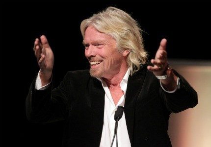 Richard Branson is named top entrepreneur role model by a landslide