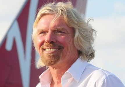 Richard Branson offers new program for small-business travelers aboard Virgin America