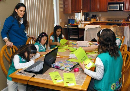 Sell, baby, sell: Our Board of Directors offers advice to Girl Scouts and other young entrepreneurs.