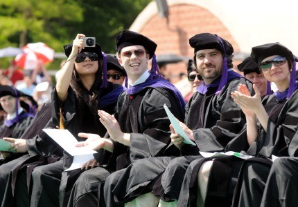 The future looks bright for college graduates, with hiring picking up to pre-recession levels.