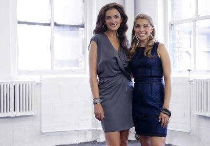 All dressed up: Rent the Runway founders Jennifer Hyman and Jenny Fleiss now offer some 15,000 dresses for rent online.