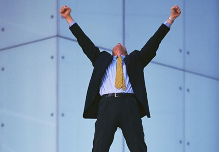Victory! Most entrepreneurs say they have a mantra for success, according to a new survey.