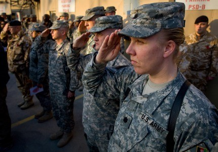 Military veterans are 45 percent more likely to be self-employed than those with no military experience.