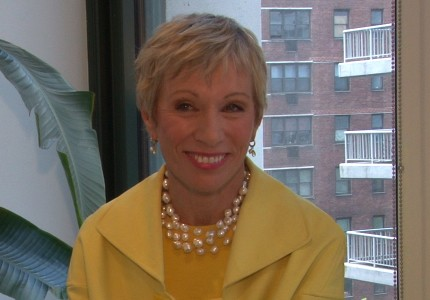 Keeping it real: Real-estate mogul Barbara Corcoran started her empire with just $1,000.