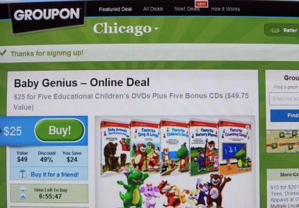 Daily deal sites like Groupon end up being profitable for only about half of participating merchants.
