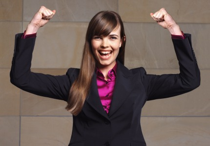 Almost half of women business owners are optimistic the economy will improve in the next six months.