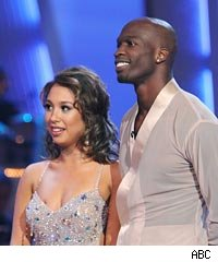 Chad Ochocinco and Cheryl Burke