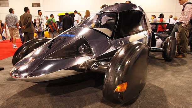 X Prize Edison2 Very Light Car at SEMA