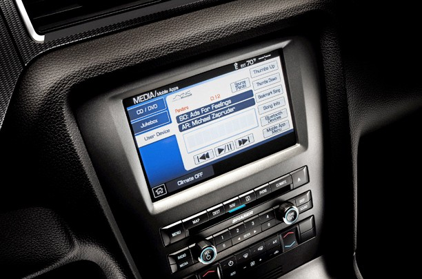 Ford Mustang with SYNC AppLink