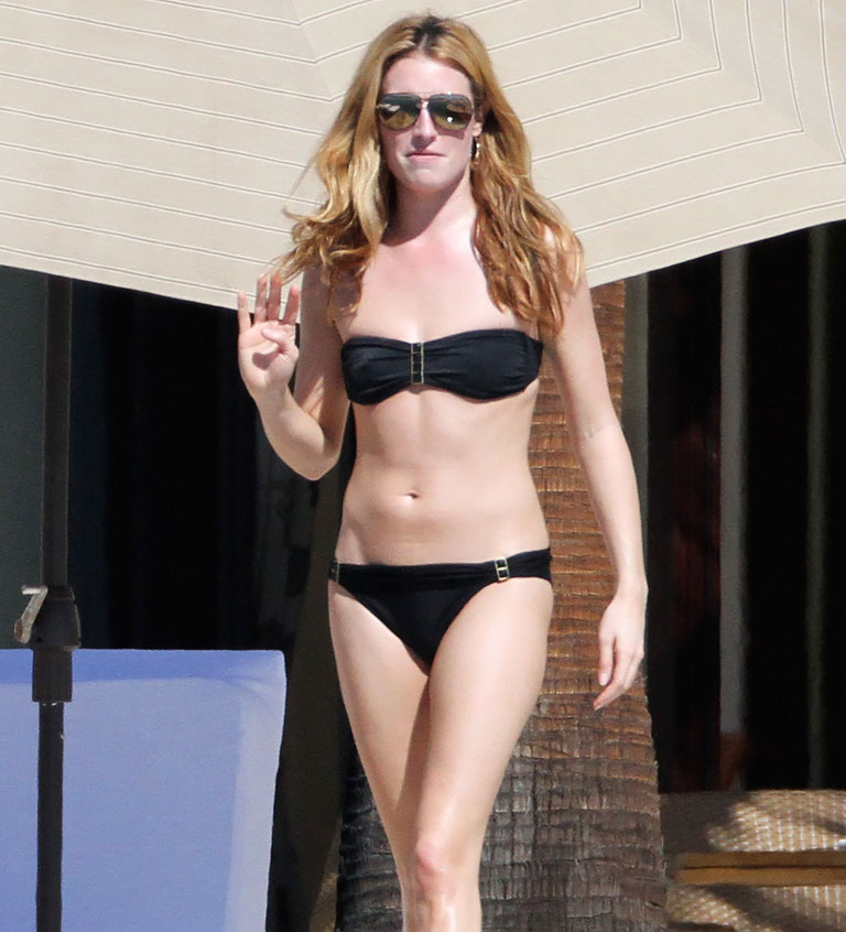 Cat Deeley in Mexico