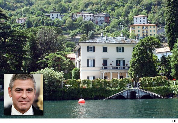 George Clooney's Lake Como mansion