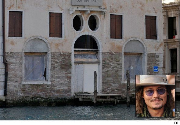 Johnny Depp's Italian palazzo