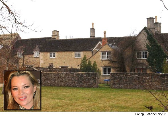 Kate Moss's Cotswolds country house