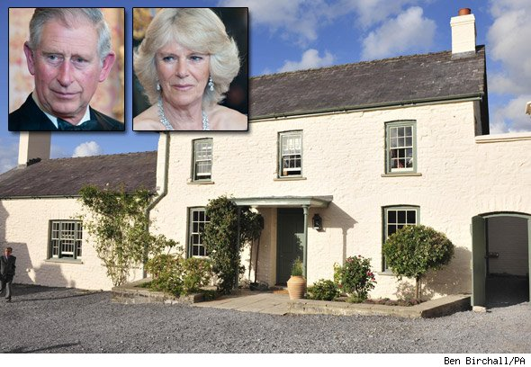 Charles and Camilla's Welsh retreat