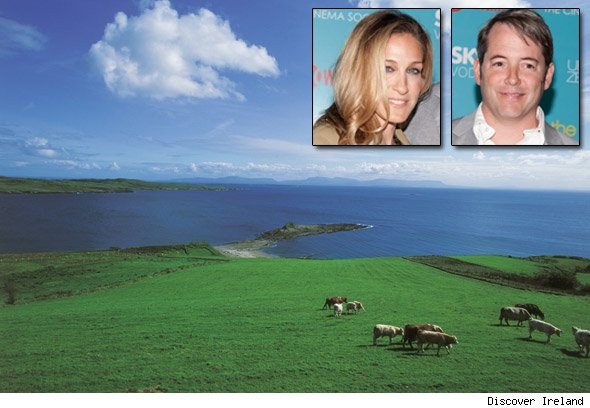 Sarah Jessica Parker and Matthew Broderick's Irish hideaway