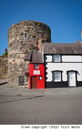 Quay House (the smallest house in Britain), North Wales