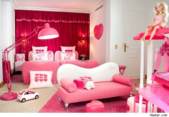 New For 2011 Barbie Hotel Rooms Cater Kids AOL