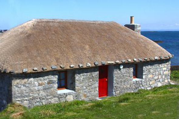 Thatched cottage, Isle of Berneray, Hebrides