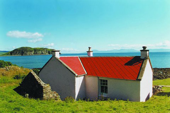 Fisherman's Cottage, Kintyre Peninsula, Scotland