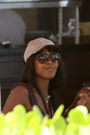 Naomi Campbell in Florida