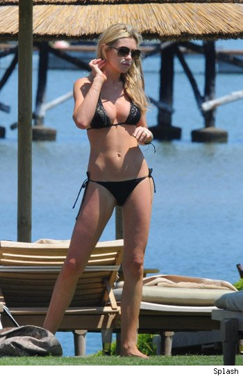 Abbey Clancey in Sardinia