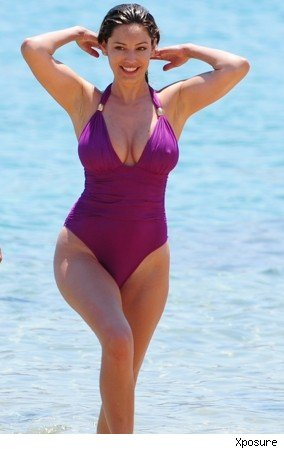 Kelly Brook in Mykonos
